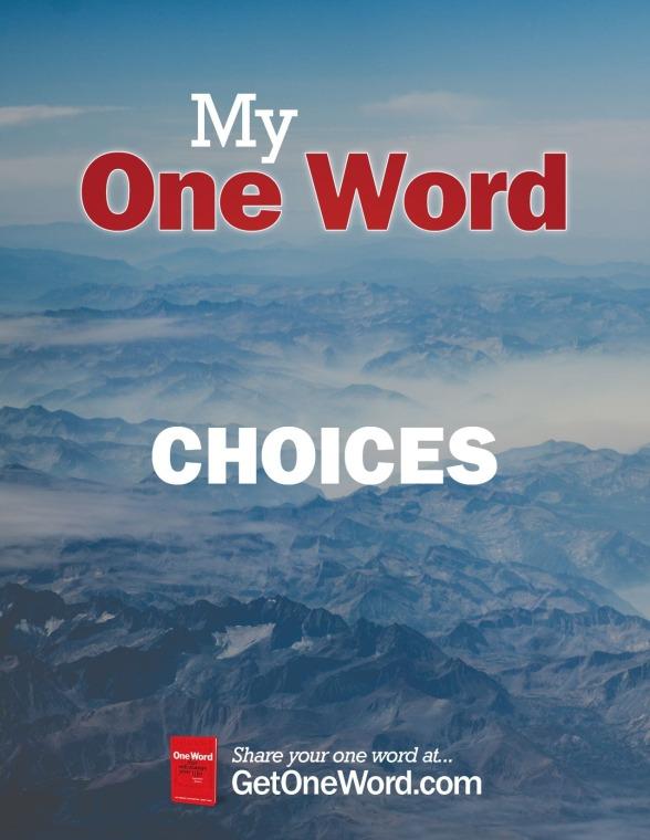 MyOneWord-CHOICES